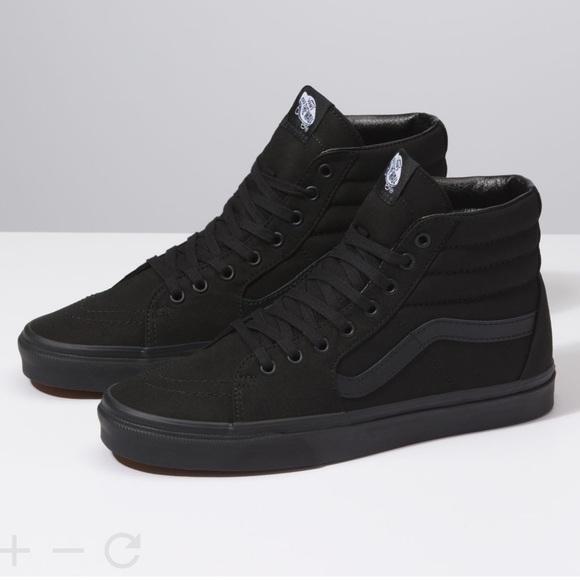 Vans Shoes   Mens Black Sneakers 14
